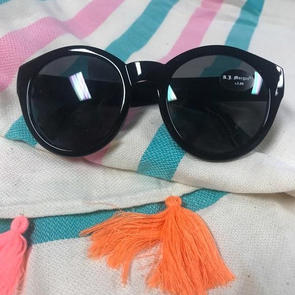 6e276460d50 A.J. Morgan Accessories - Brand new black A.J. Morgan sunglasses w  readers
